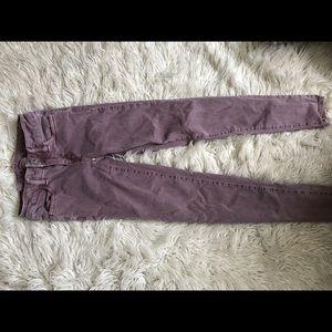 Purple AE Jeans
